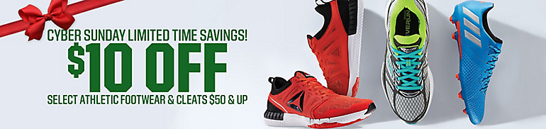 $10 Off Select Footwear