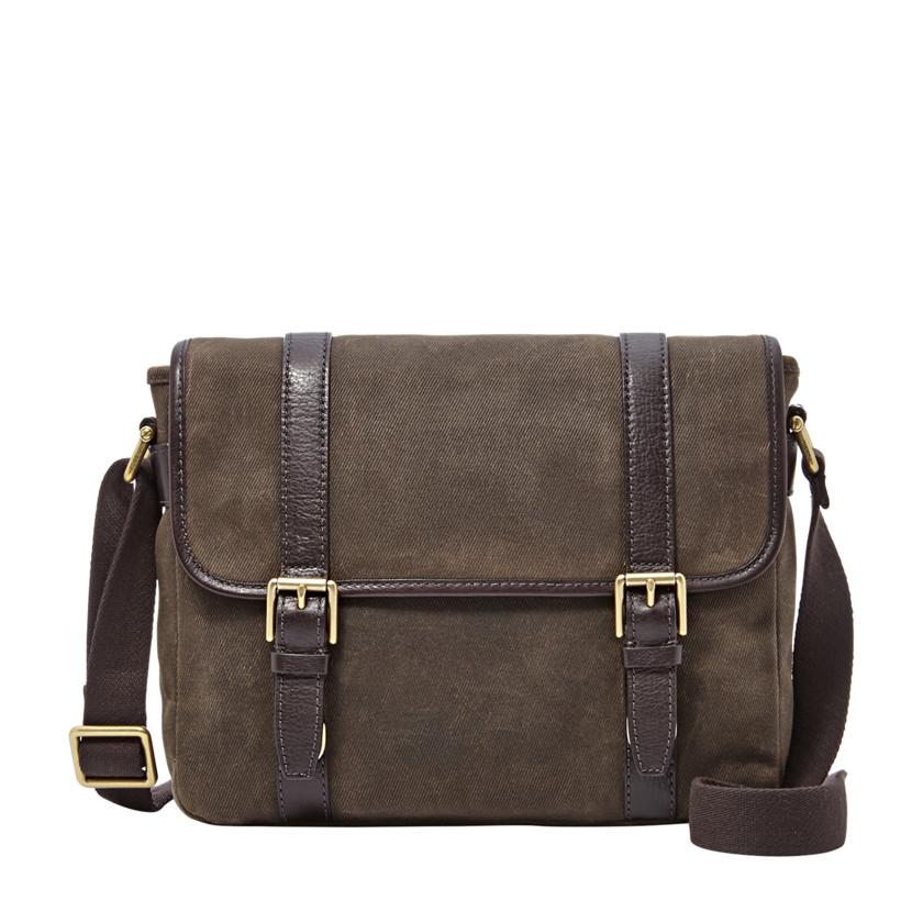Fossil  Estate E/W City Bag  Dark Brown 22606359