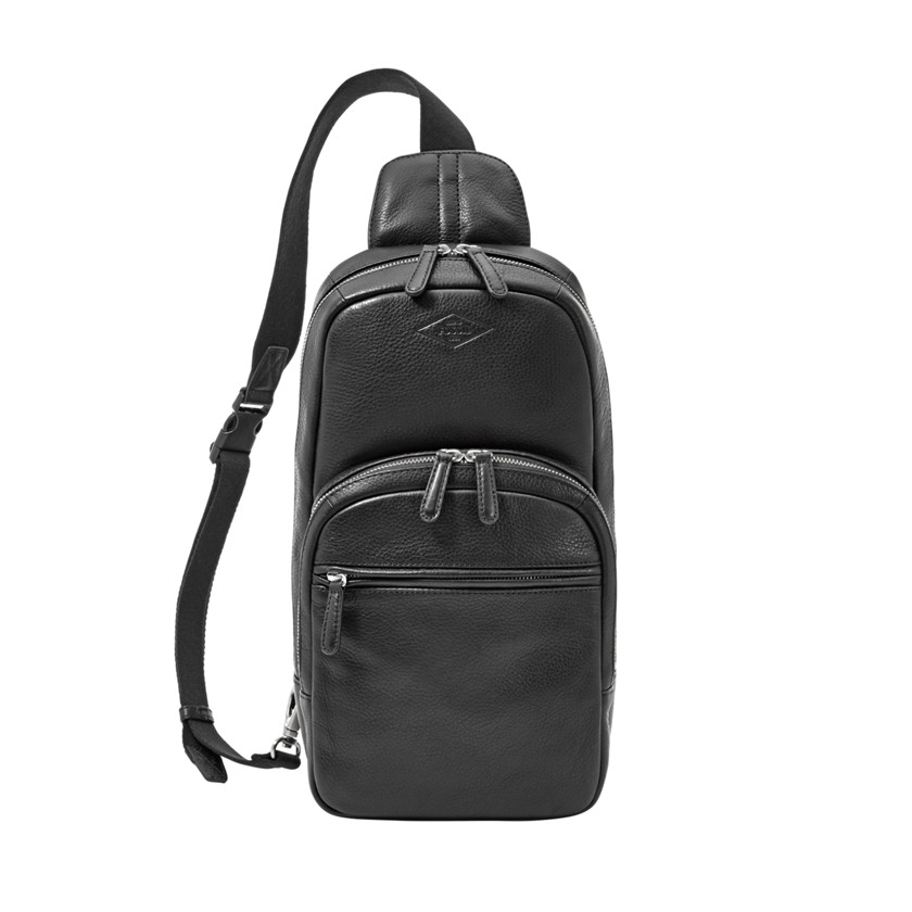 Fossil  Mick Sling Pack  Black 22606368