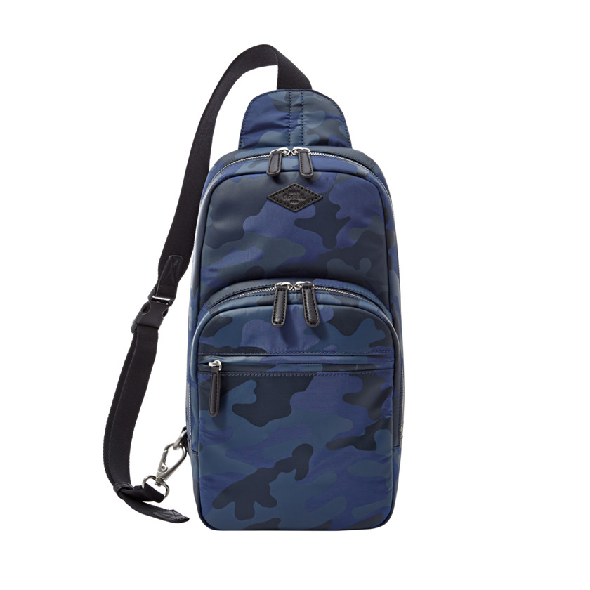 Fossil  Mick Sling Pack  Blue Multi 22606373