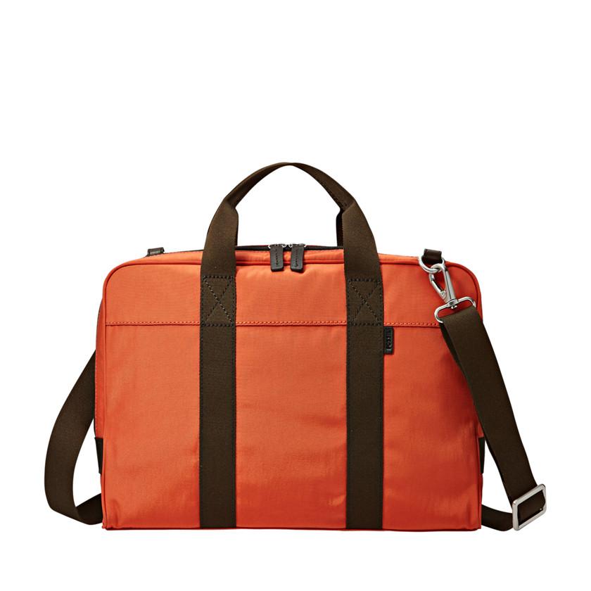 Fossil  Mercer Document Bag  Orange 22543859