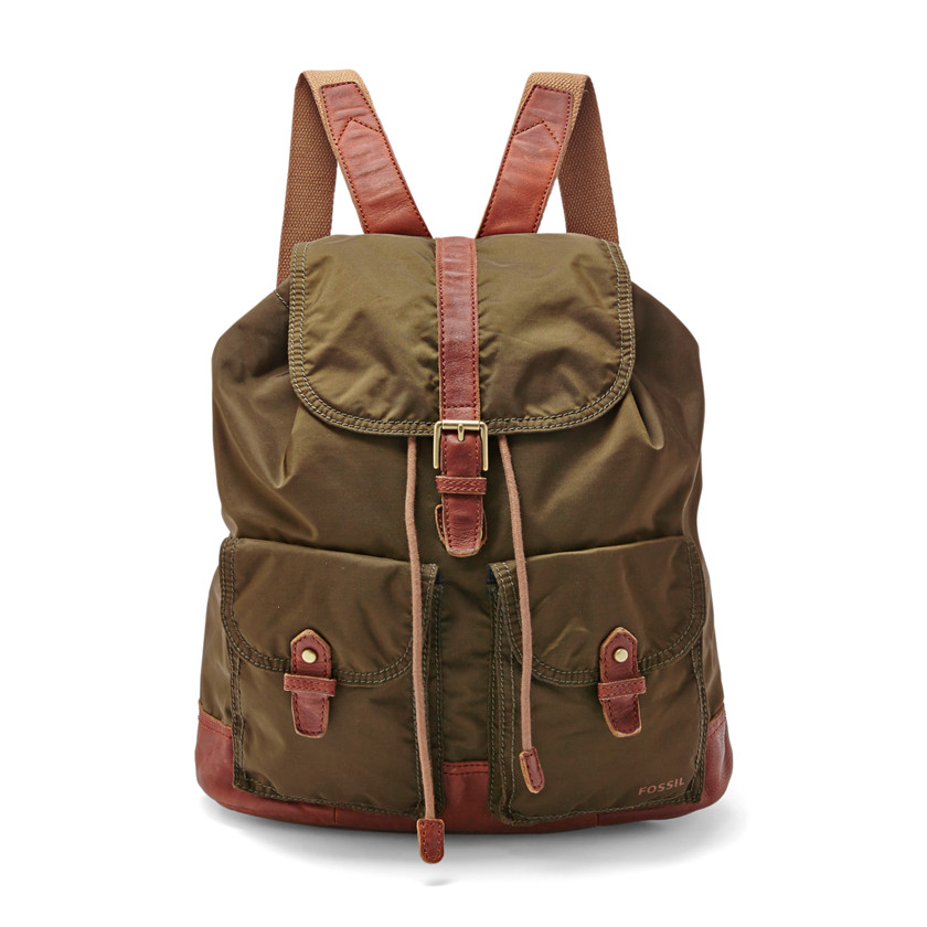 Fossil  Estate Backpack  Olive 22573860