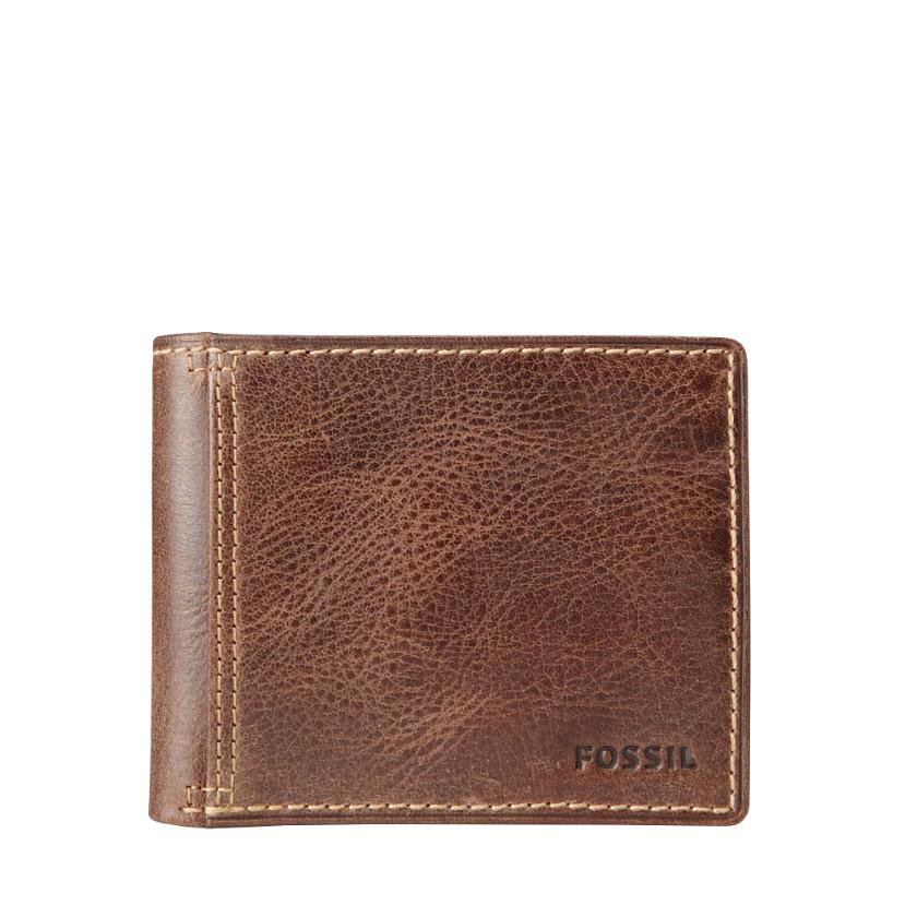 Fossil  Bradley Bifold Wallet  Brown 22479921