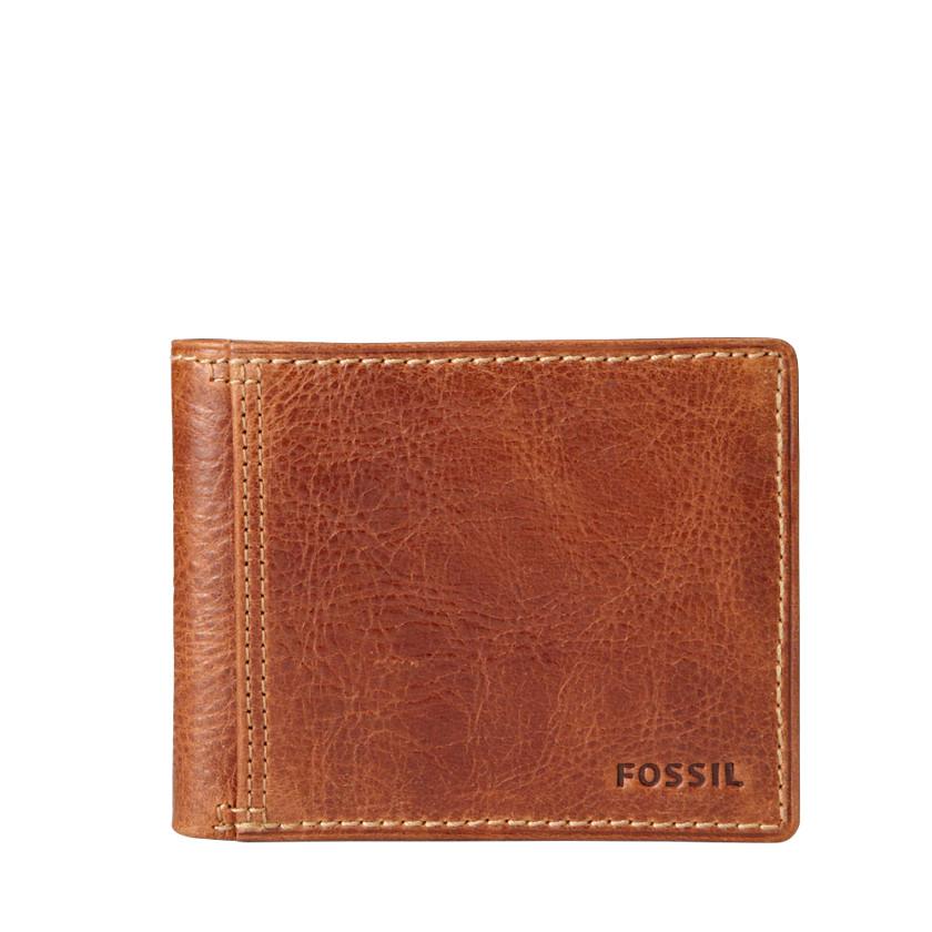 Fossil  Bradley Bifold Wallet  Tan 22479921