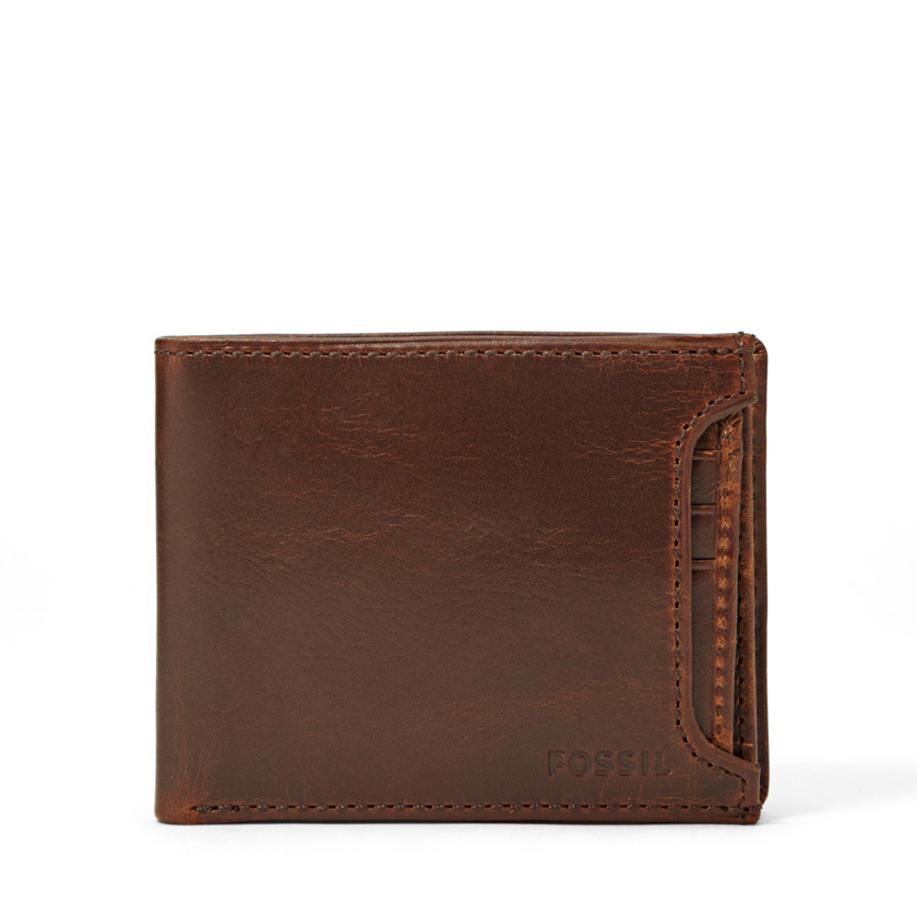 Fossil  Hale Sliding 2 In 1 Wallet  Dark Brown 22525463