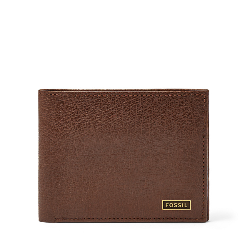 Fossil  Omega ID Bifold  Dark Brown 22566495