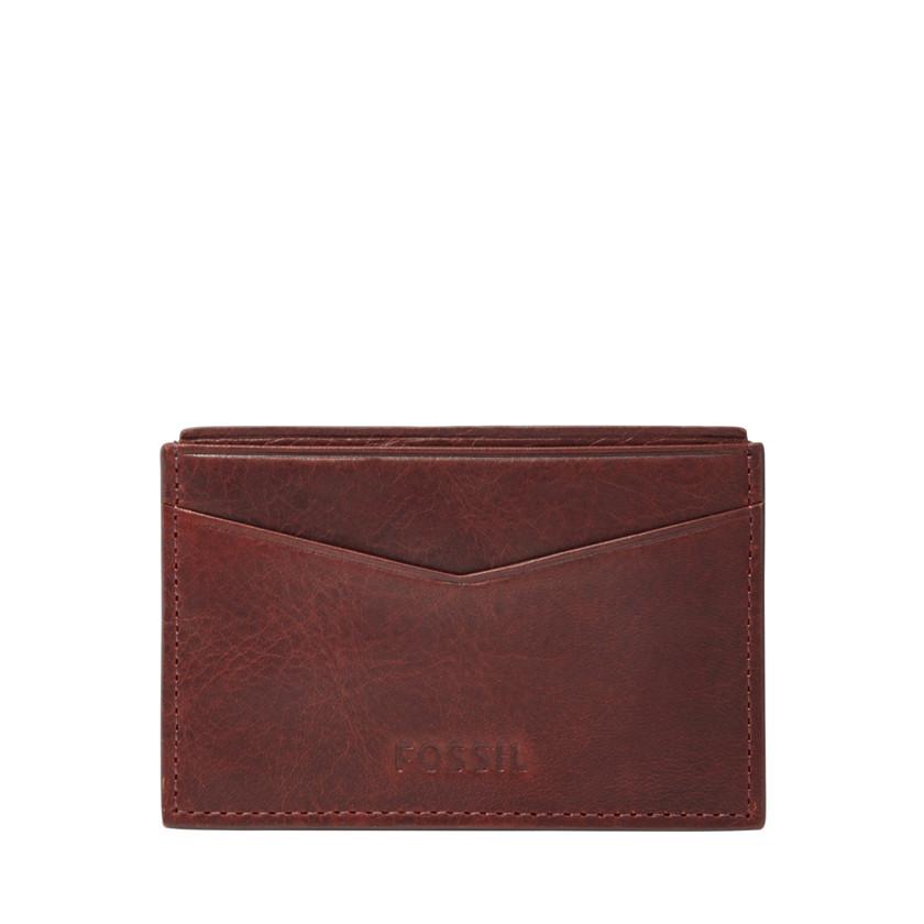 Fossil  Ingram Card Case  WINE 22574044