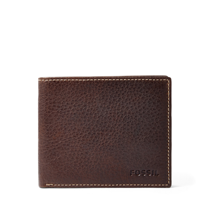 Fossil  Lincoln Bifold  Brown 22573929
