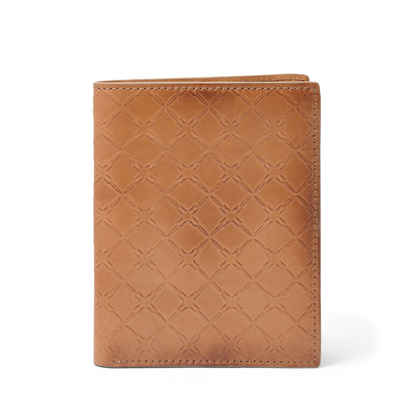 Fossil  Hampton Travel Wallet  Camel 22573950