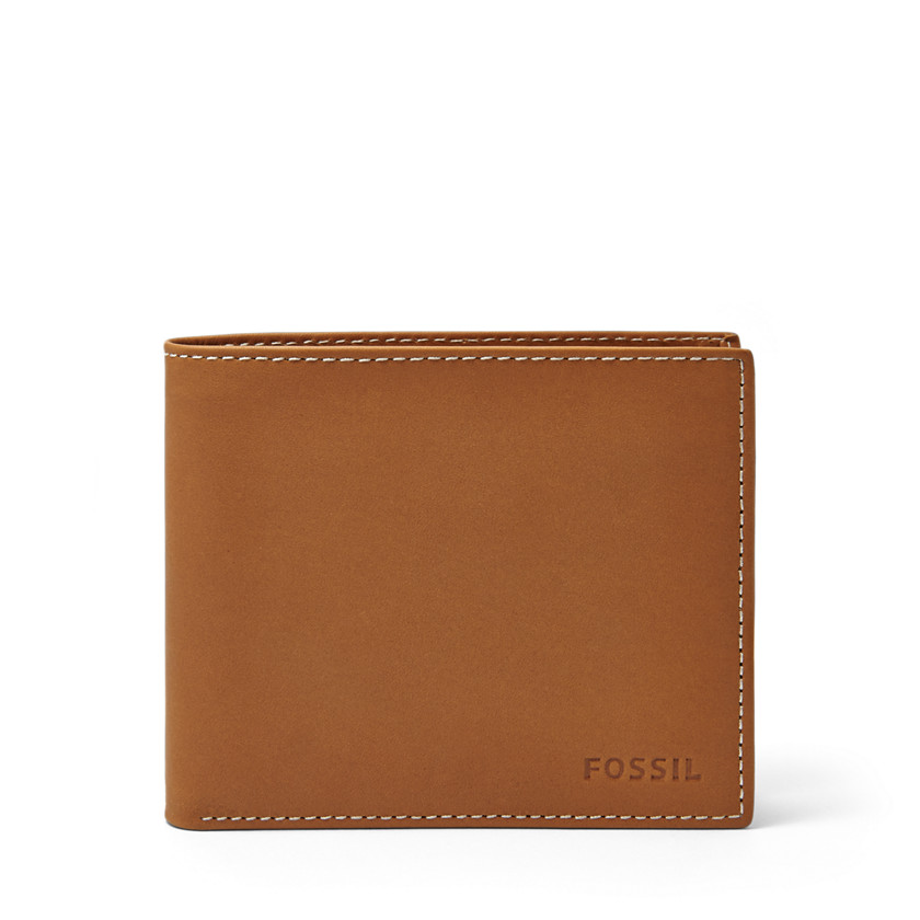 Fossil  Ramsey Large Coin Pocket Bifold  Saddle 22606472
