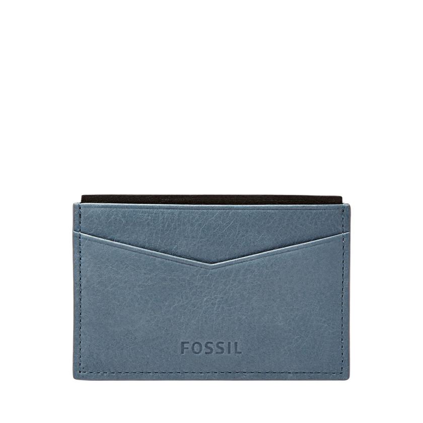 Fossil  Bond Card Case  Vintage Blue 22606579