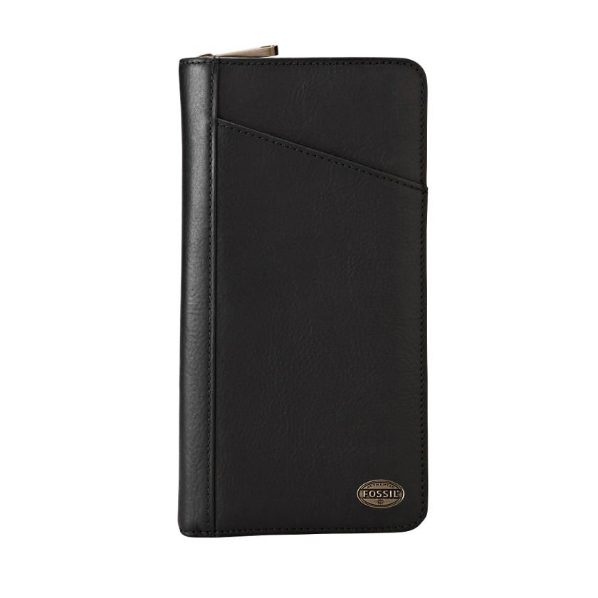 Fossil  Estate Multi Passport Case  Black 22365510