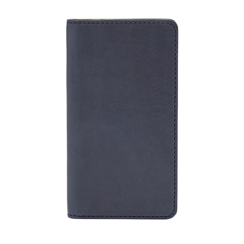 Fossil  Leather iPhone® 5 Wallet  Navy 22573986