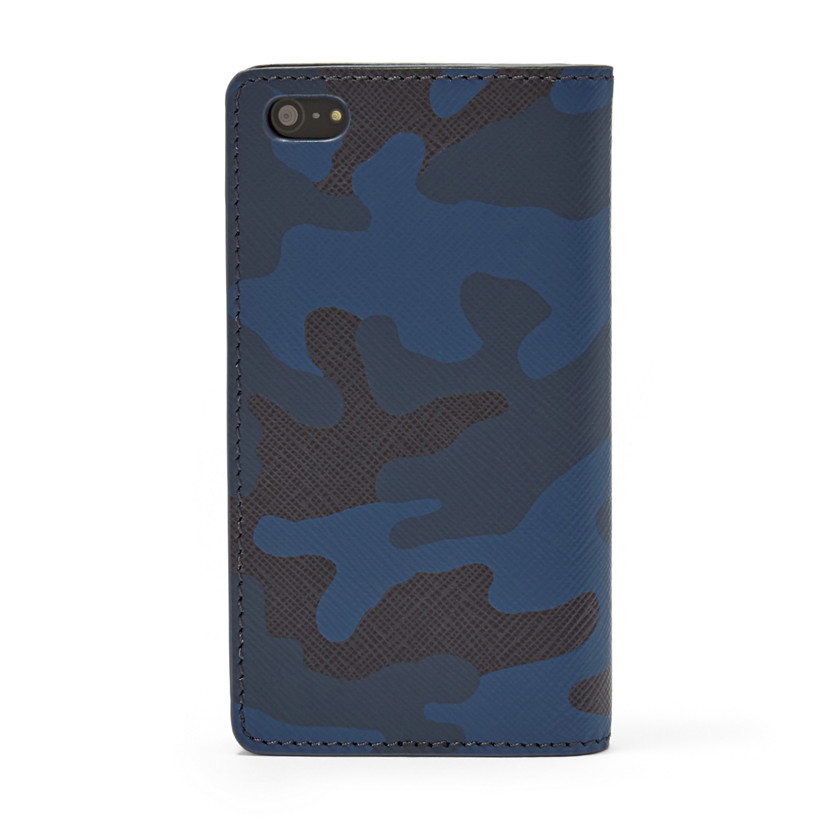 Fossil  Camo iPhone® 5 Wallet  Blue Multi 22606603