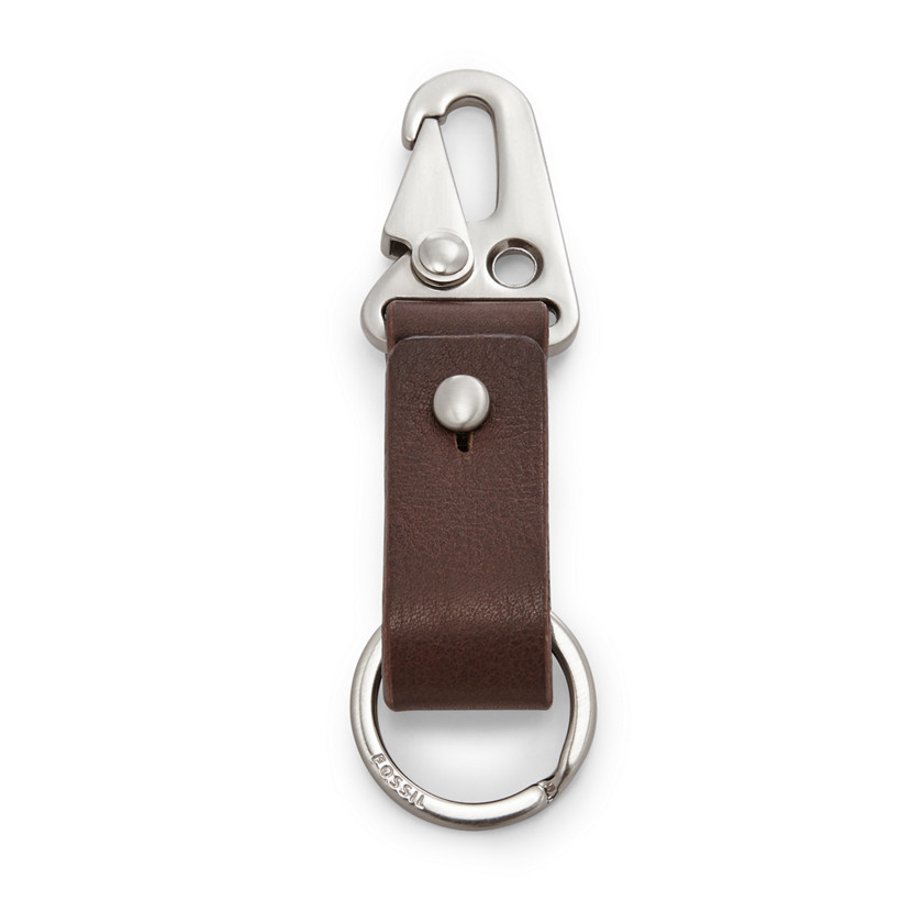 Fossil  Roger Key Fob  Brown 22606629