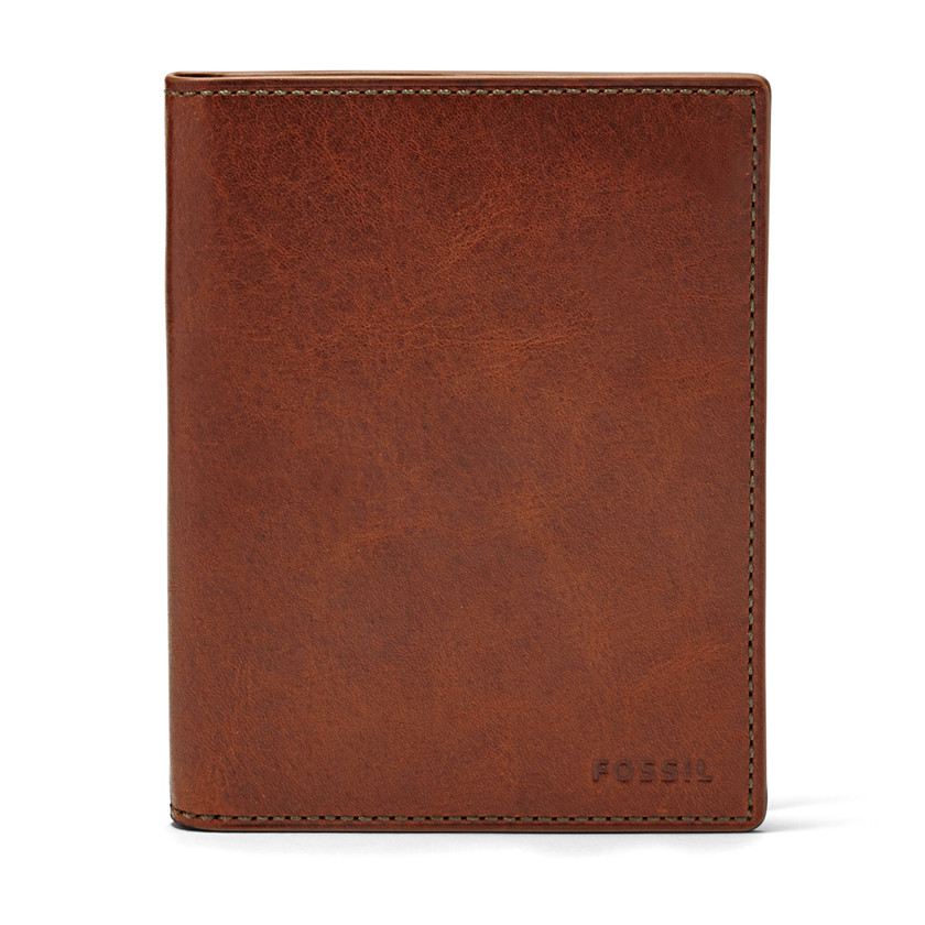 Fossil  Passport Case  Cognac 22574001