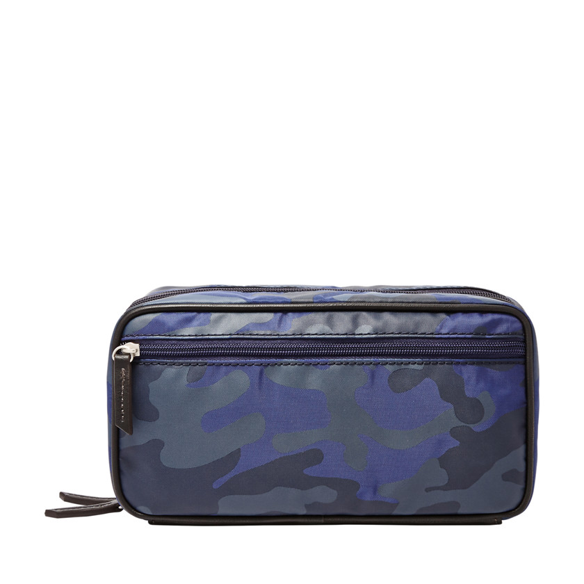 Fossil  Double Zip Shave Kit  Blue Multi 22606655