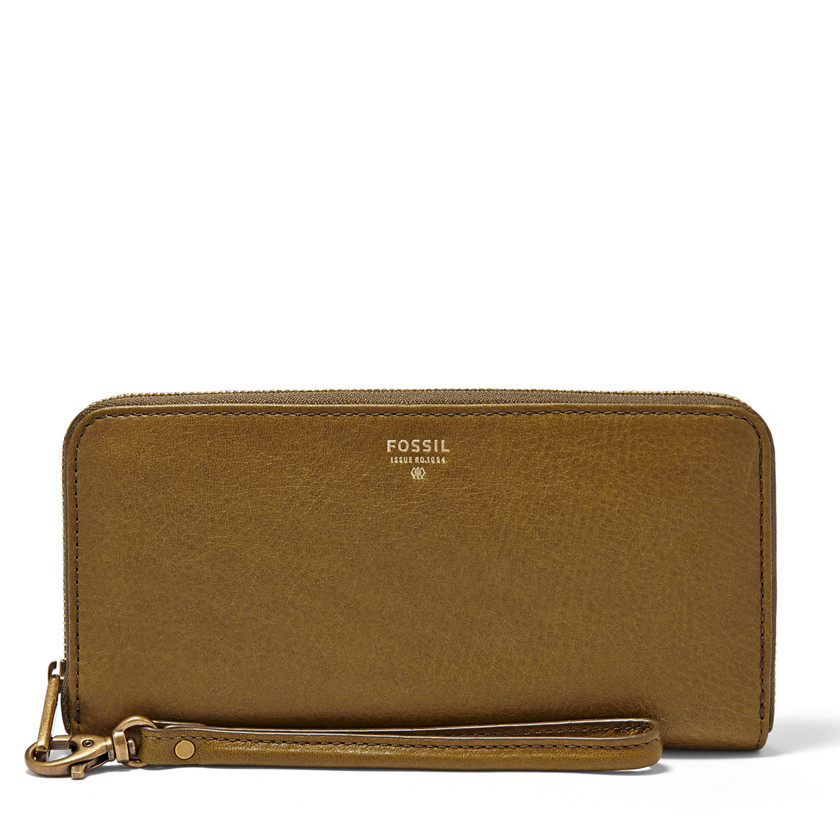 Fossil  Sydney Zip Clutch  FATIGUE 22455501