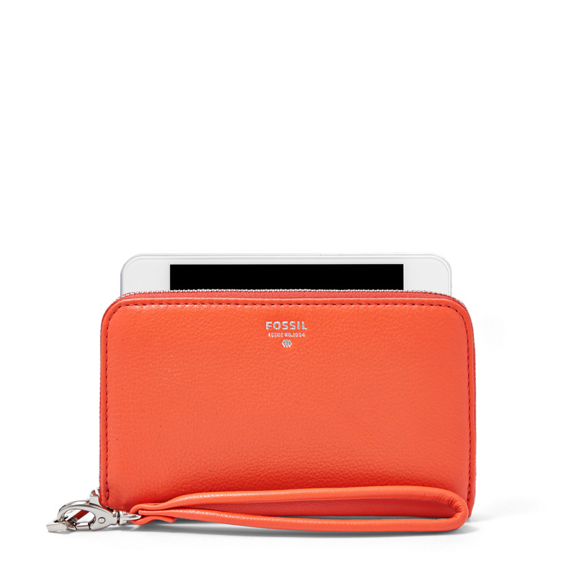 Fossil  Sydney Zip Phone Wallet  MONARCH 22455520