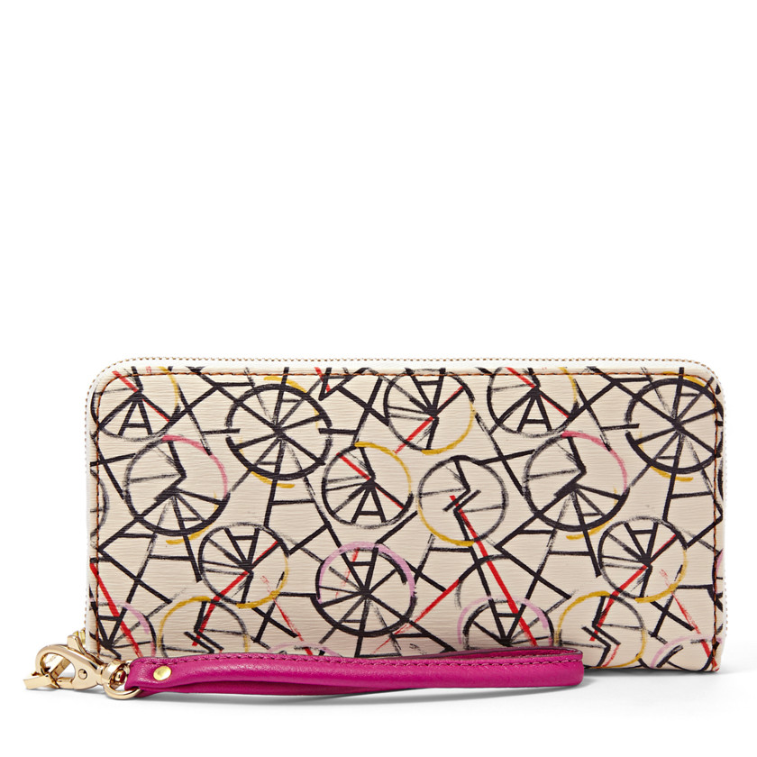 Fossil  Sydney Zip Clutch  BRIGHT MULTI 22455568