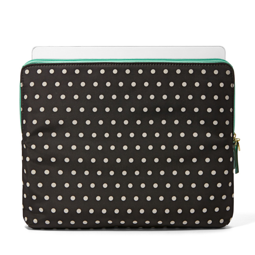 Fossil  Dot iPad ® 3 Tech Sleeve  Black\/Bone 22531387