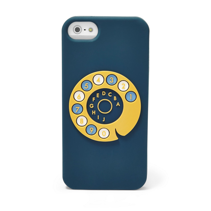 Fossil  Rotary Dial iPhone® 5 Case  Navy 22558882