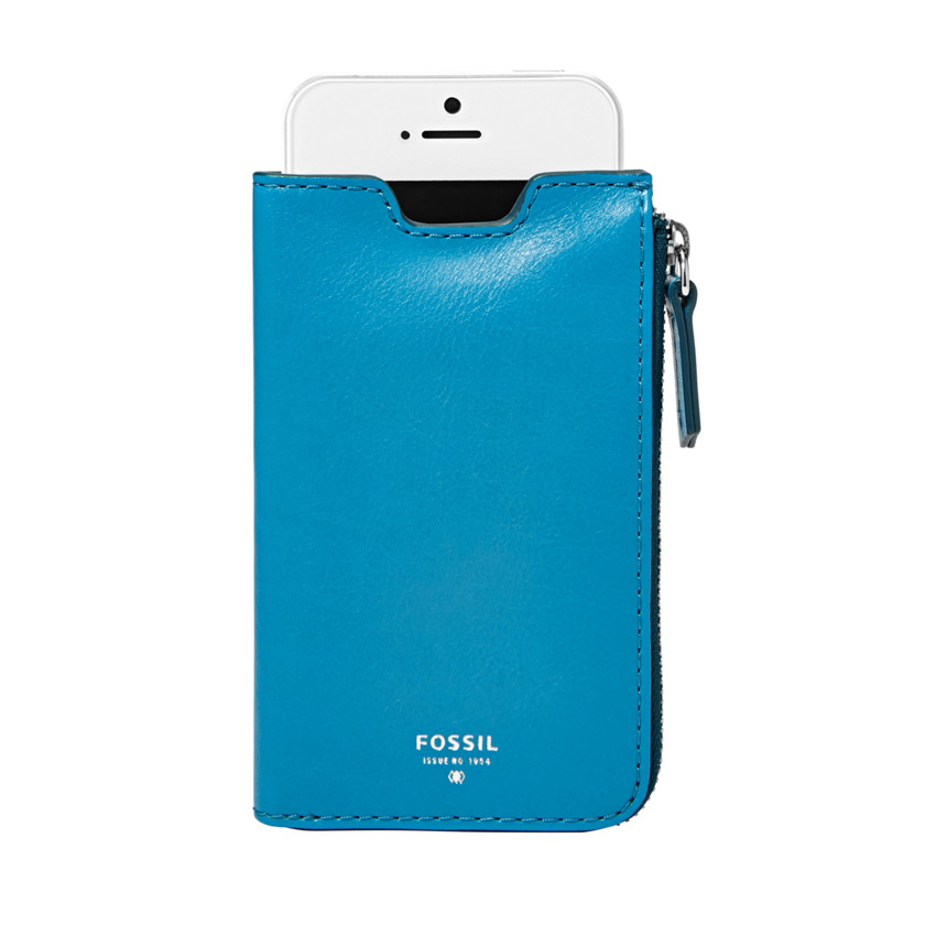 Fossil  Giftable Phone Sleeve Wallet  Blue Glow 22571223