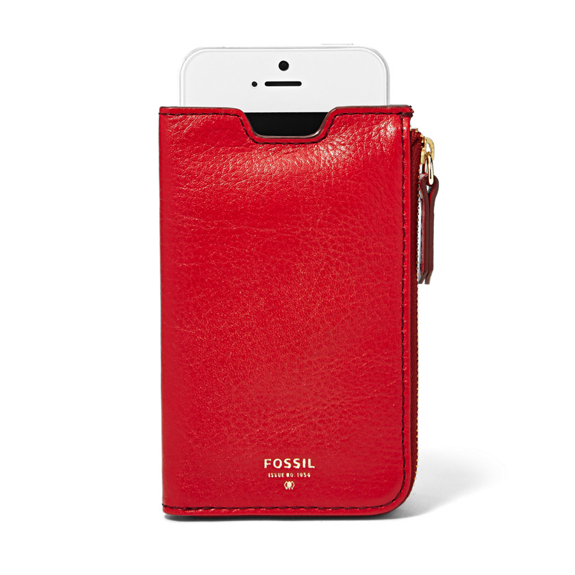 Fossil  Giftable Phone Sleeve Wallet  SCARLET 22571223