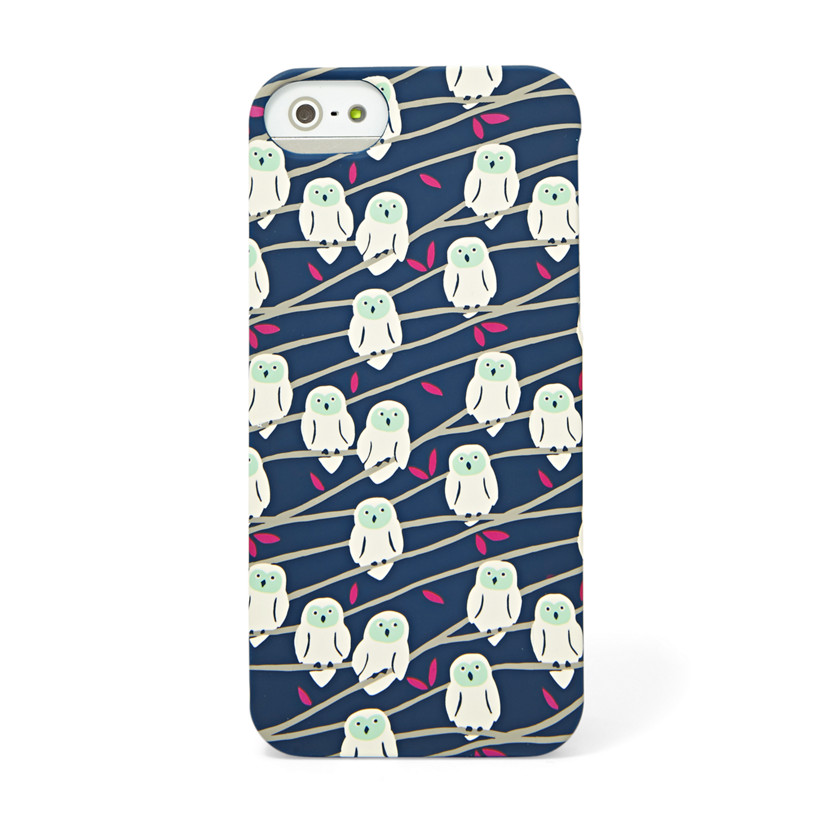 Fossil  Snow Owl iPhone® 5 Case  Navy 22571336