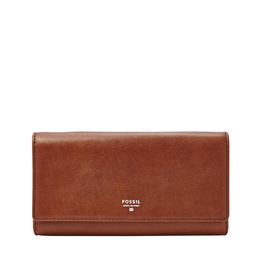 Fossil  Sydney Flap Wallet  BROWN 22571455