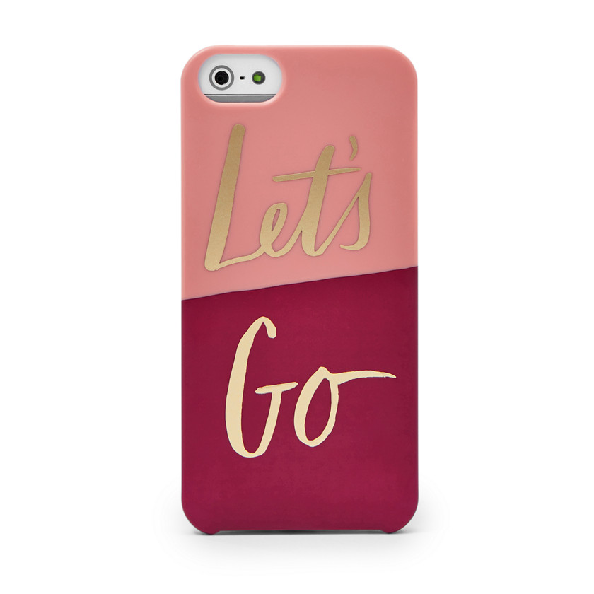 Fossil  Let's Go iPhone® 5 Case  POWDER PINK 22605385