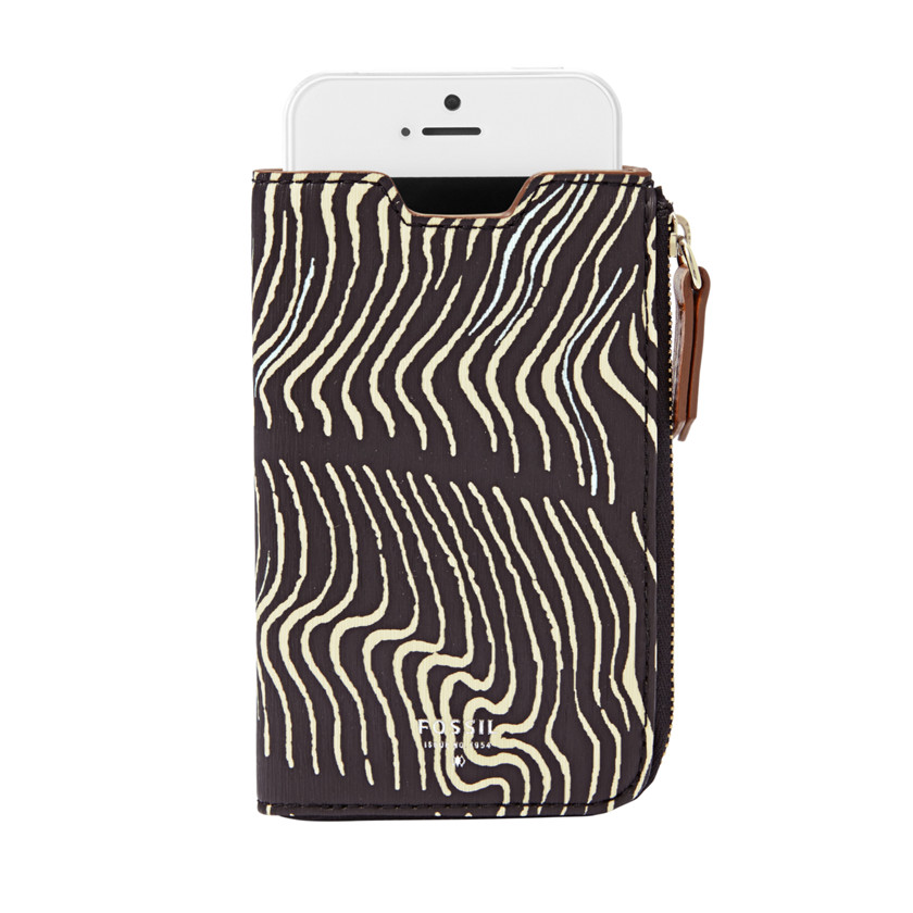 Fossil  iPhone® 5 Sleeve Wallet  WHITE\/BLACK 22605442