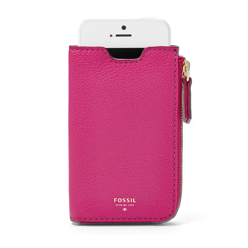 Fossil  iPhone® 5 Sleeve Wallet  Fuchsia 22609177