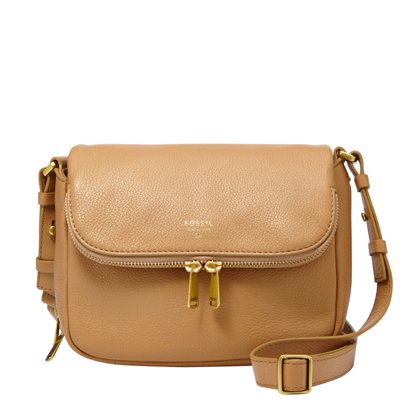 Fossil  Preston Small Flap  BEIGE 22558946