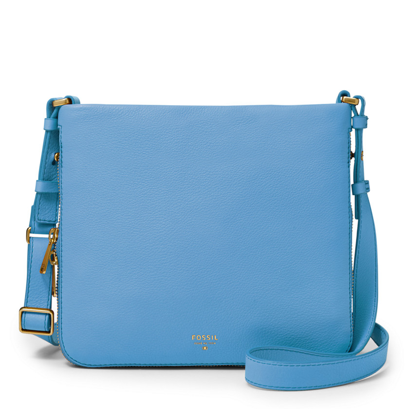 Fossil  Preston Crossbody  Crystal Blue 22558959