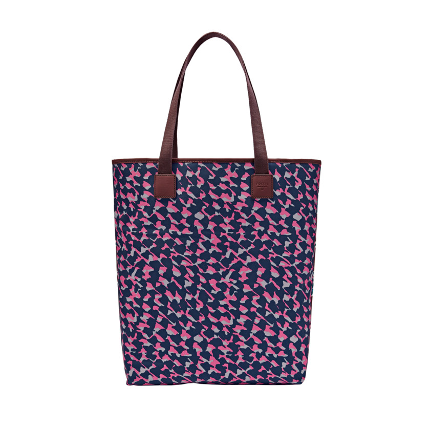 Fossil  Lakewood NS Tote  PINK CHEETAH 22570623