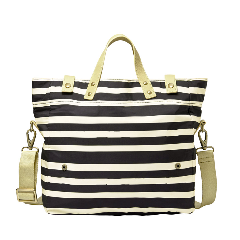 Fossil  Gordon Tote  Black Multi 22605526