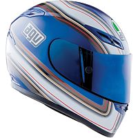 Agv gp-tech multi stripes helmet