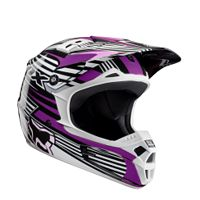 2009 FOX WOMEN'S V1 HELMET - RACE