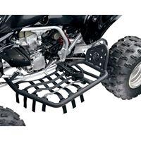 MOOSE RACE PEG NERF BARS W/HEEL GUARDS - BLACK