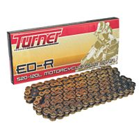 TURNER 520 ED-R 120 LINK O-RING CHAIN GOLD