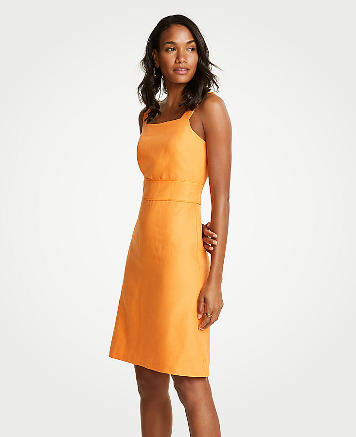 Square Neck Sheath Dress by Ann Taylor