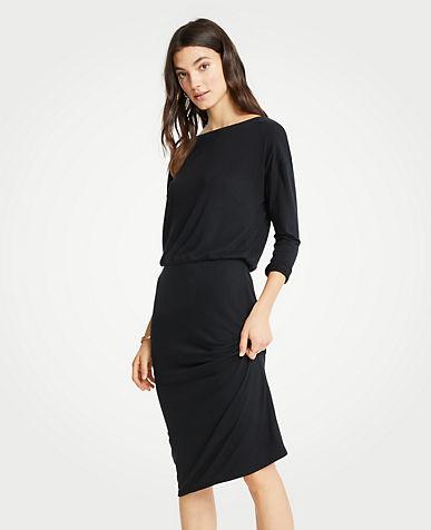 앤테일러 Ann Taylor Shirred Sheath Dress