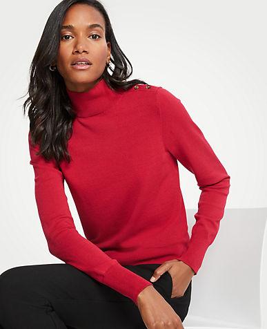앤테일러 Ann Taylor Turtleneck Sweater