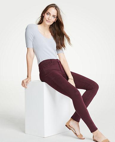 앤테일러 Ann Taylor Modern Skinny Jeans in Sateen