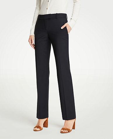 앤테일러 긴바지 Ann Taylor The Straight Leg Pant In Tropical Wool