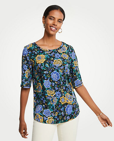 Floral Easy Tee
