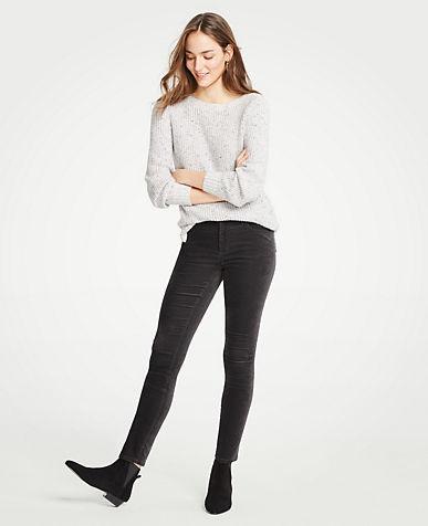 앤테일러 Ann Taylor Modern Skinny Velvet Jeans