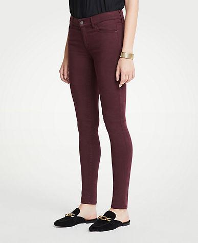 앤테일러 Ann Taylor Curvy Skinny Jeans in Sateen