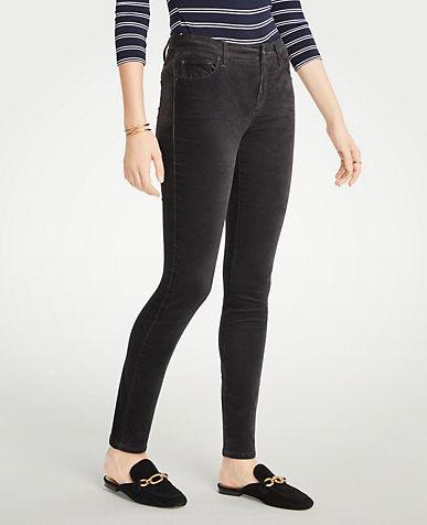 앤테일러 Ann Taylor Curvy Skinny Velvet Jeans